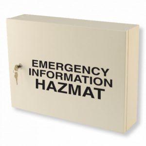 Emergency Information Hazmat Cabinet
