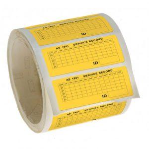 Fire Door AS 1851 Vinyl Label / Sticker Roll Fire Door AS 1851 Vinyl Label / Sticker Roll Fire Door AS 1851 Vinyl Label / Sticker Roll