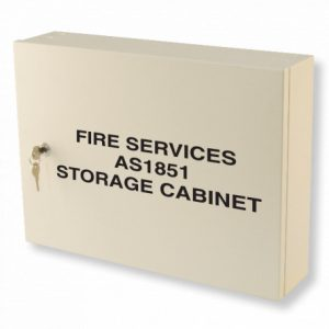 Fire Services AS1851 Maintenance Cabinet