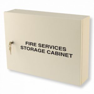 Fire Services Storage Cabinet - Red Fire Services Storage Cabinet