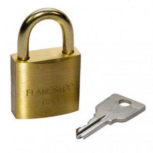 FlameStop Padlock with 003 Key