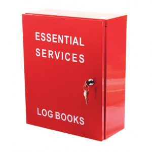 Log book cabinet with 003 lock